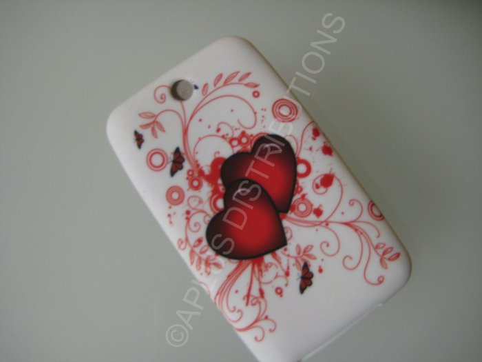 NEW FOR IPOD TOUCH 2ND & 3RD GENERATION TWIN HEARTS-RED
