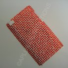 NEW FASHIONABLE BLING SOLID DIAMONDS FOR IPOD TOUCH 4TH GENERATION-RED