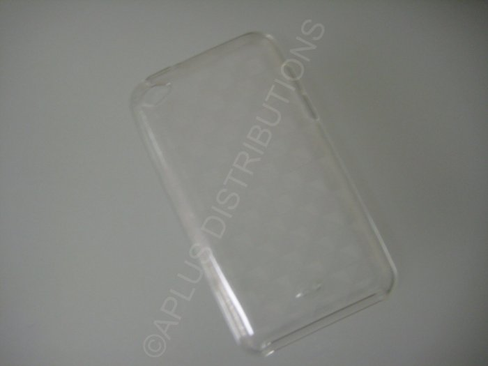 NEW FOR IPOD TOUCH 4TH GENERATION TRANSPARENT SMALL TRIANGLES-CLEAR