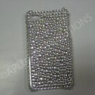 New White Multi-Diamonds Design Crystal Bling Diamond Case For iPhone 4 - (0033)