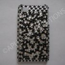 New Black Multi-Diamonds Design Crystal Bling Diamond Case For iPhone 4 - (0013)