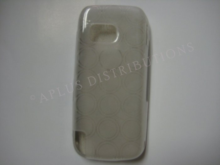 New Clear Transparent Multi-Circles TPU Cover For Nokia Nuron 5230 - (0002)