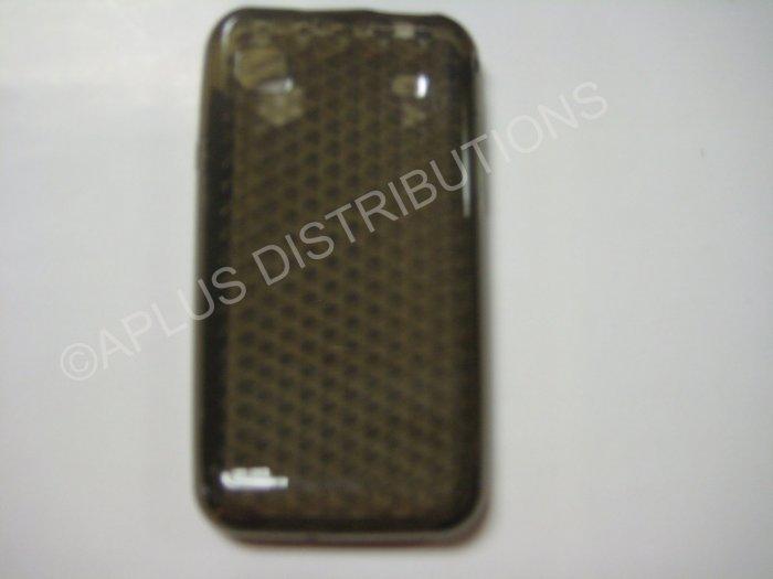 New Smoke Diamond Cut Pattern TPU Cover For Samsung Galaxy S I9000 - (0010)