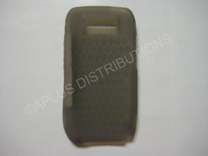 New Smoke Diamond Print Silicone Skin Case For Nokia E71 - (0003)