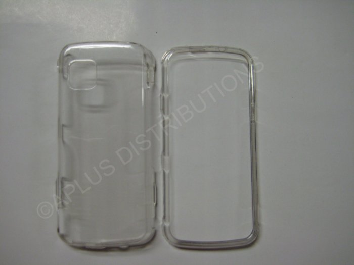 New Clear Transparent Hard Protective Cover For Nokia Nuron 5230 - (0059)