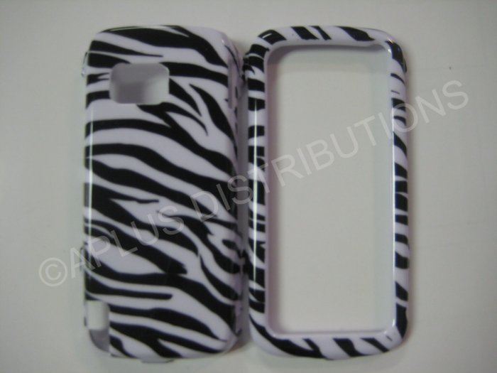 New Black Zebra Design Hard Protective Cover For Nokia Nuron 5230 - (0001)
