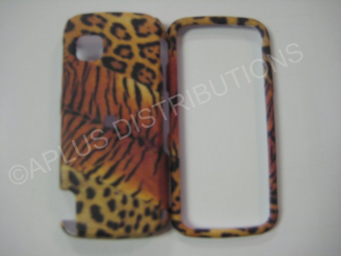 New Black Tiger Design Hard Protective Cover For Nokia Nuron 5230 - (0004)