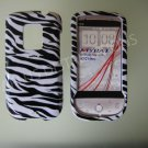 New Black Zebra Design Hard Protective Cover For HTC Hero Cdma - (0001)