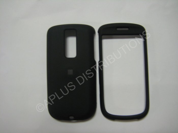 "New Black Rubberized Hard Protective Cover For HTC My Touch ""G2"" - (0051)"