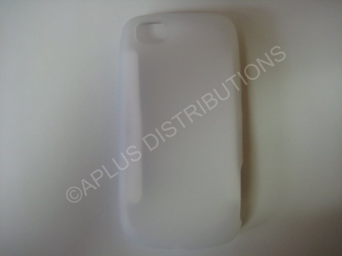 New Clear Solid Color Silicone Skin Case For LG Sentio GS505 - (0007)