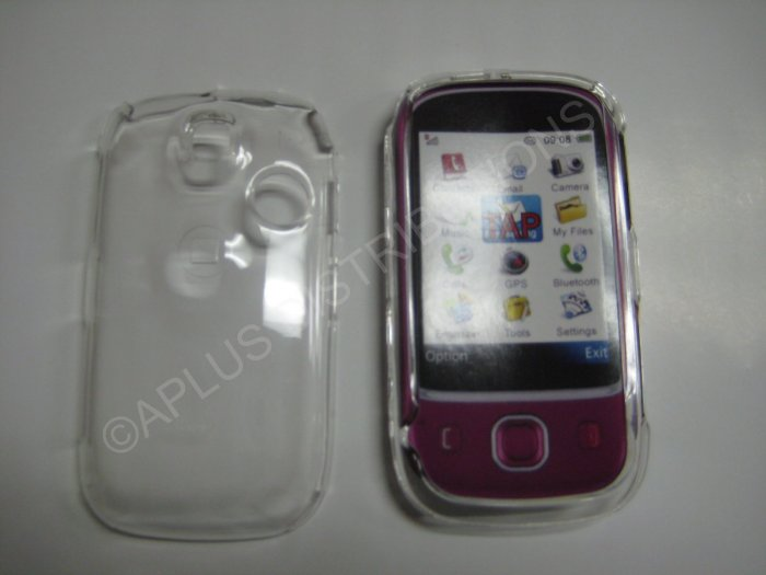 New Transparent Hard Protective Cover For T-Mobile Tap - (0059)