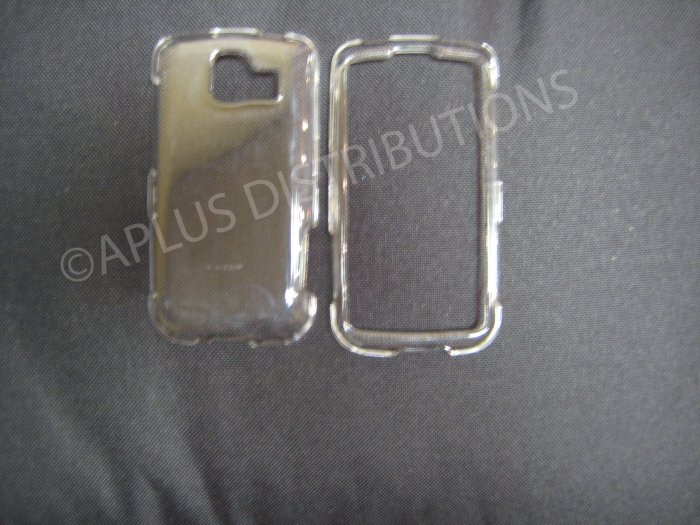 New Clear Transparent Hard Protective Cover For LG Optimus S LS670 - (0059)