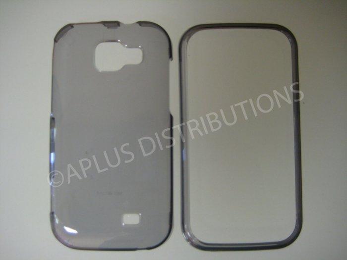 New Smoke Transparent Hard Protective Cover For Samsung Transform M920 - (0060)