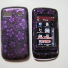 New Purple 3D Flower Hard Protective Cover For LG Xenon GS505 - (0006)