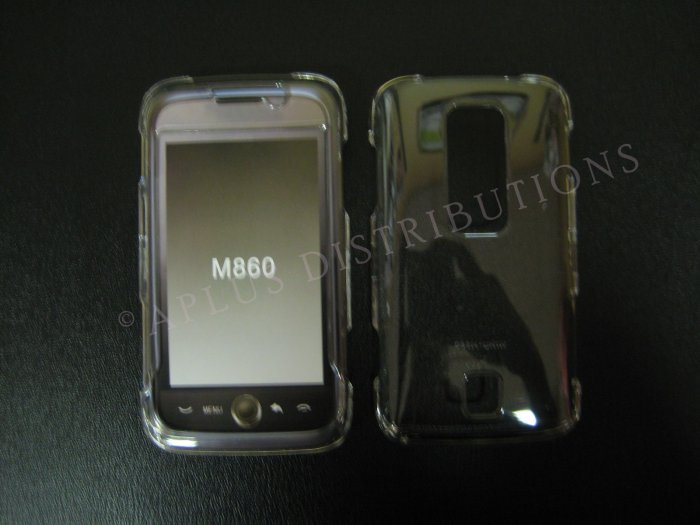 New Transparent Hard Protective Cover For Huawei Ascend M860 - (0059)