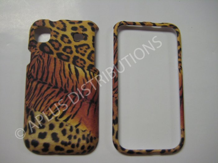 New Black Tiger Design Hard Protective Cover For Samsung Galaxy S I9000 - (0004)