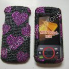 New Pink Heart Series Bling Diamond Case For Motorola Debut I856 - (0001)