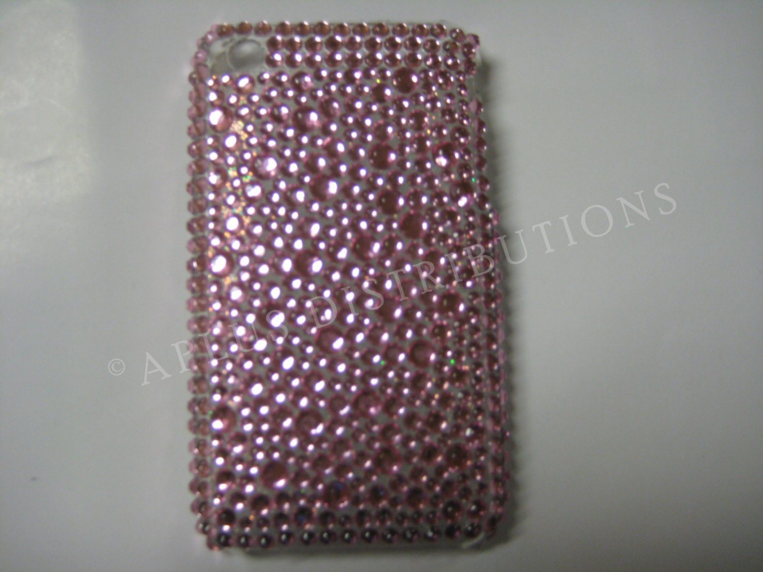 New Pink Multi-Diamonds Design Crystal Bling Diamond Case For iPhone 3G 3Gs - (0018)
