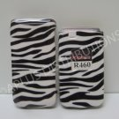 New Black Zebra Design Hard Protective Cover For Samsung Myshot Ii R460 - (0001)