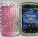 New Shades Of Pink Crystal Bling Diamond Case For Blackberry 9800 - (0054)
