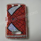 New Red Spider Man Bling Diamond Case For Blackberry 9500 - (0079)