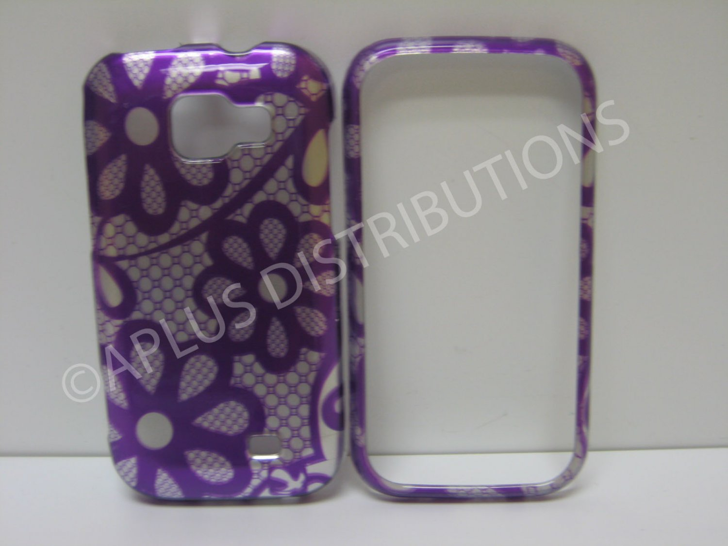 New Clear Transparent Hard Protective Cover For Samsung Transform M920 - (0059)