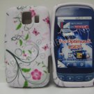 New Green Butterflies Swirl Design TPU Cover For LG Optimus S LS670 - (0028)