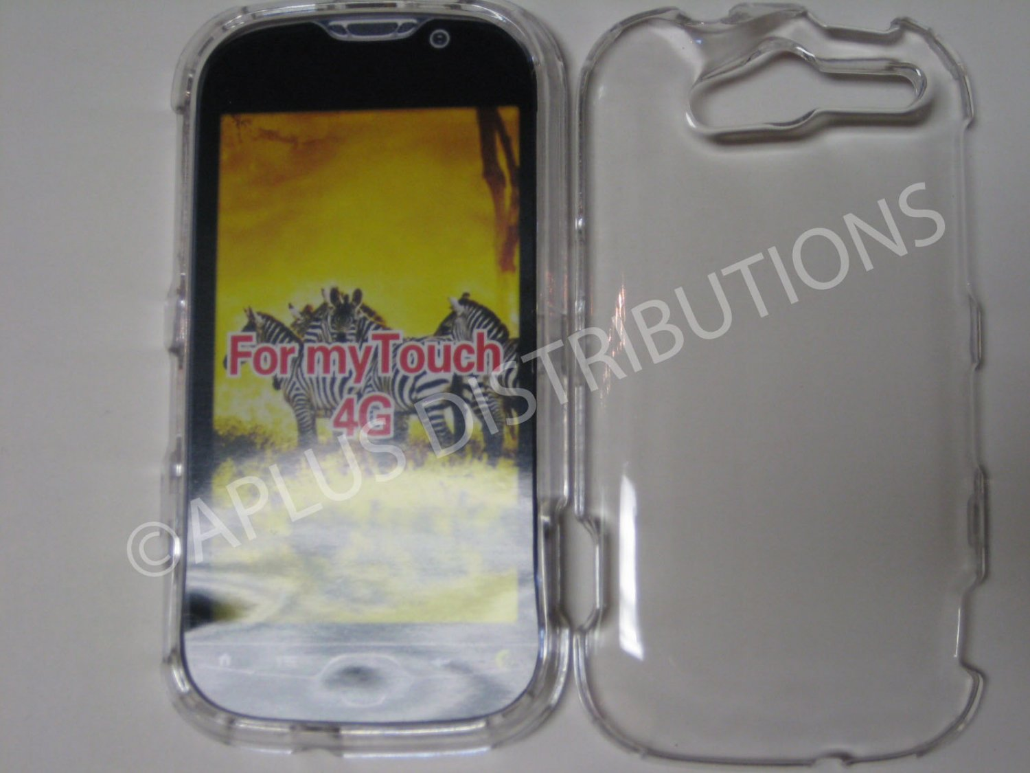 New Clear Transparent Hard Protective Cover For HTC My Touch 4G - (0059)