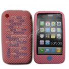 New Pink Primo Bricks Design Silicone Cover For iPhone 3G 3GS - (0042)