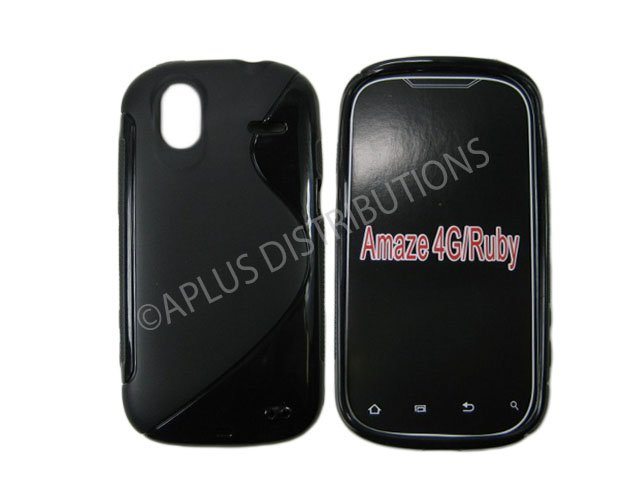 New Black TPU Case Cover For HTC Amaze 4G