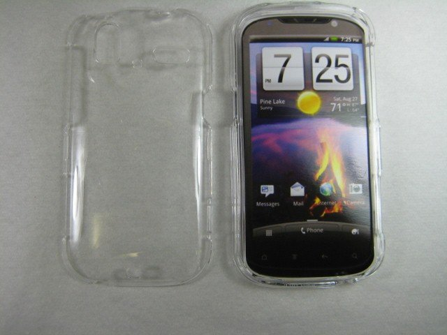 New Clear Transparent Hard Protective Case Cover For Htc Amaze 4G