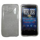 New Clear Transparent Hard Protective Case Cover For HTC Desire HD / Inspire