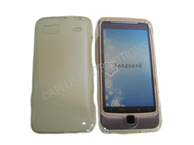 New Clear Transparent Hard Protective Case Cover For HTC G2 4G - Vanguard
