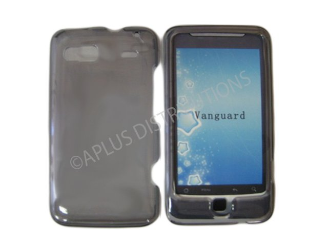 New Smoke Transparent Hard Protective Case Cover For HTC G2 4G - Vanguard