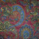 Fabric Floral Design,Great For: Crafts,Upholster, Etc.