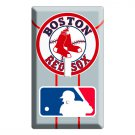 NEW BOSTON RED SOX BASEBALL MLB SINGLE SWITCH COVER WALL PLATE COVER ROOM DECOR