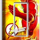 FLASH COMICS SUPER HERO YELLOW FLAMES SINGLE GFCI LIGHT SWITCH WALL PLATE COVER