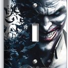 JOKER VILLAIN BATMAN COMICS SINGLE LIGHT SWITCH WALL PLATE COVER BOYS ROOM DECOR