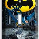 BATMAN FOREVER SUPERHERO SINGLE LIGHT SWITCH WALL PLATE COVER BOYS BEDROOM DECOR