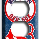 BOSTON RED SOX BASEBALL TEAM PHONE DUPLEX OUTLET WALL PLATE COVER MAN CAVE DECOR