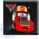 NEW DISNEY'S CARS 3 MACK TRUCK DOUBLE LIGHT SWITCH DECORATIVE WALL PLATE COVER