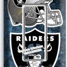 OAKLAND RAIDERS NATION NFL FOOTBALL TEAM SINGLE GFCI LIGHT SWITCH WALL PLATE ART