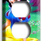 SNOW WHITE PRINCESS DUPLEX OUTLET WALL PLATE GIRLS BEDROOM DECORATION GAME ROOM