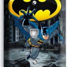 BATMAN FOREVER SUPERHERO PHONE JACK TELEPHONE WALL PLATE COVER BOYS BEDROOM ART