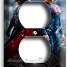 BATMAN V SUPERMAN SUPERHEROS DUPLEX OUTLET WALL PLATE COVER BOYS BEDROOM DECOR