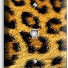 LEOPARD ANIMAL SKIN PRINT THEME PHONE TELEPHONE WALL PLATE COVER ROOM HOME DECOR