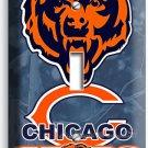 CHICAGO BEARS NFL FOOTBALL TEAM LOGO MAN CAVE SINGLE LIGHT SWITCH ART WALL PLATE