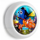 FINDING NEMO CLOWN FISH DORY SEA CORAL REEF WALL CLOCK BEDROOM ROOM HOME DECOR
