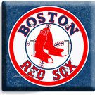 BOSTON RED SOX BASEBALL TEAM DOUBLE LIGHT SWITCH WALL PLATE MAN CAVE ROOM DECOR