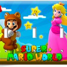 SUPER MARIO PRINCESS PEACH TRIPLE LIGHT SWITCH WALL PLATE COVER GIRLS ROOM DECOR